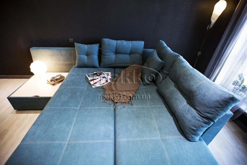 Кутовий диван з поворотним механізмом (Mercury) Меркурій ф-ка Мекко (Ортопедичний) - 3000*2150мм  Червонозаводське-3