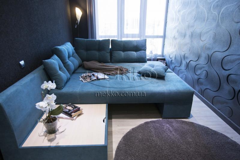 Кутовий диван з поворотним механізмом (Mercury) Меркурій ф-ка Мекко (Ортопедичний) - 3000*2150мм  Червонозаводське-4