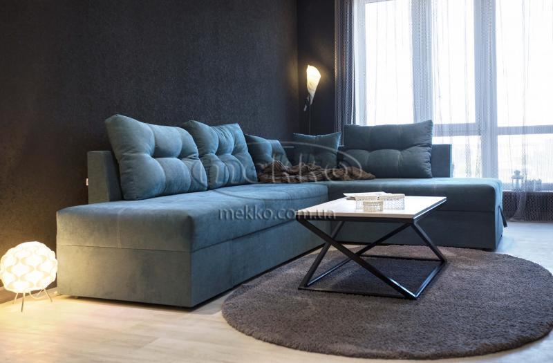 Кутовий диван з поворотним механізмом (Mercury) Меркурій ф-ка Мекко (Ортопедичний) - 3000*2150мм  Червонозаводське