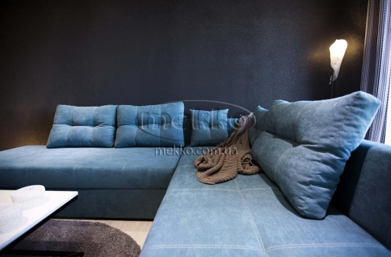 Кутовий диван з поворотним механізмом (Mercury) Меркурій ф-ка Мекко (Ортопедичний) - 3000*2150мм  Червонозаводське-5