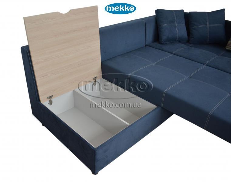 Кутовий диван з поворотним механізмом (Mercury) Меркурій ф-ка Мекко (Ортопедичний) - 3000*2150мм  Червонозаводське-18