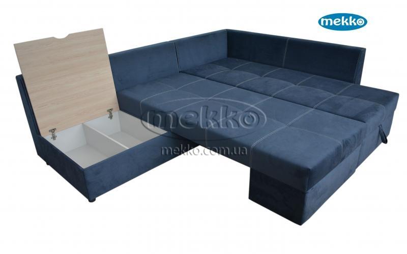 Кутовий диван з поворотним механізмом (Mercury) Меркурій ф-ка Мекко (Ортопедичний) - 3000*2150мм  Червонозаводське-19