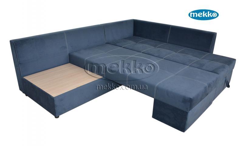 Кутовий диван з поворотним механізмом (Mercury) Меркурій ф-ка Мекко (Ортопедичний) - 3000*2150мм  Червонозаводське-16