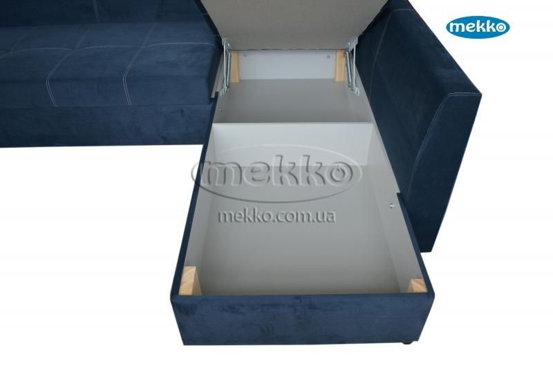 Кутовий диван з поворотним механізмом (Mercury) Меркурій ф-ка Мекко (Ортопедичний) - 3000*2150мм  Червонозаводське-20
