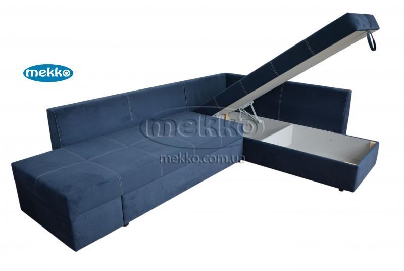 Кутовий диван з поворотним механізмом (Mercury) Меркурій ф-ка Мекко (Ортопедичний) - 3000*2150мм  Червонозаводське-14