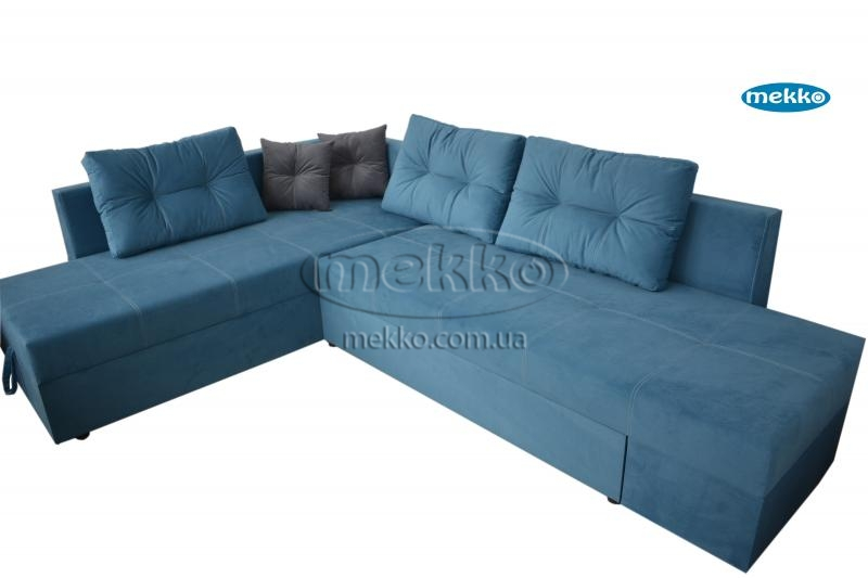 Кутовий диван з поворотним механізмом (Mercury) Меркурій ф-ка Мекко (Ортопедичний) - 3000*2150мм  Червонозаводське-10