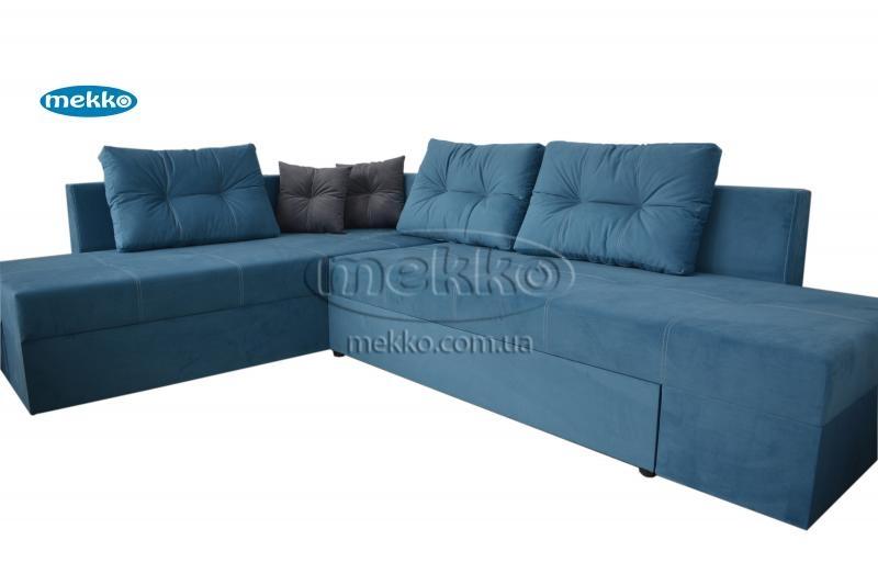 Кутовий диван з поворотним механізмом (Mercury) Меркурій ф-ка Мекко (Ортопедичний) - 3000*2150мм  Червонозаводське-11