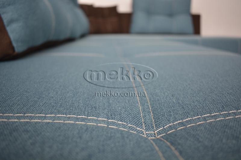 Кутовий диван з поворотним механізмом (Mercury) Меркурій ф-ка Мекко (Ортопедичний) - 3000*2150мм  Червонозаводське-9