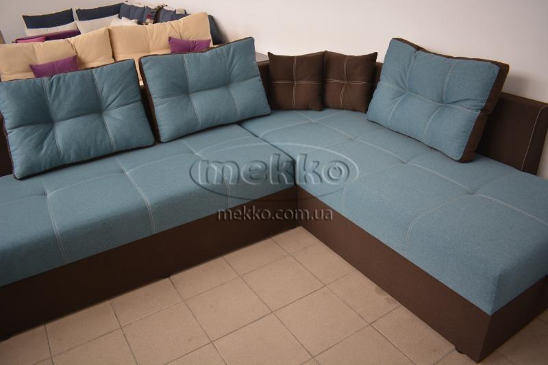 Кутовий диван з поворотним механізмом (Mercury) Меркурій ф-ка Мекко (Ортопедичний) - 3000*2150мм  Червонозаводське-8